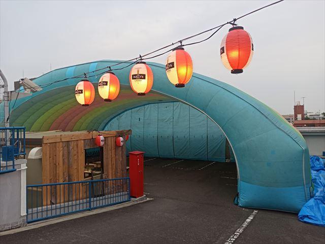 写真:立川天空ビアガーデン