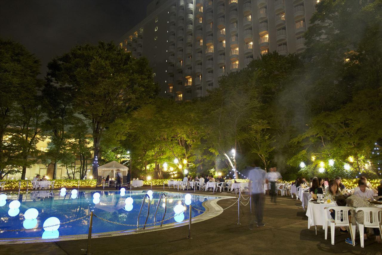 ホテル 東京 ビアガーデン プリンス